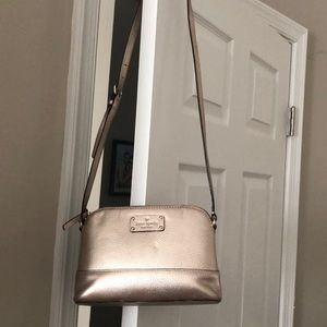Rose gold Kate Spade purse AND wallet!